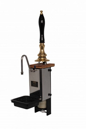 Single-Pull Pullman Through-the-Bar Beer Engine - Brass - 1/4 Pint per pull